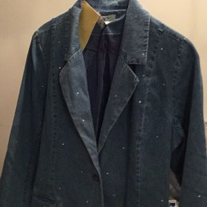 Blazer with bling 1X by Quaker Factory